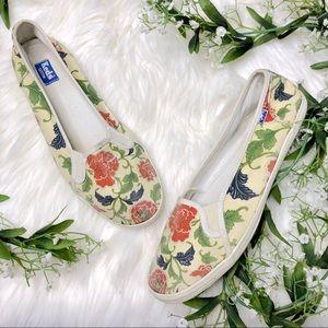Keds   Slip on Nature Floral Flats Size Women's 10